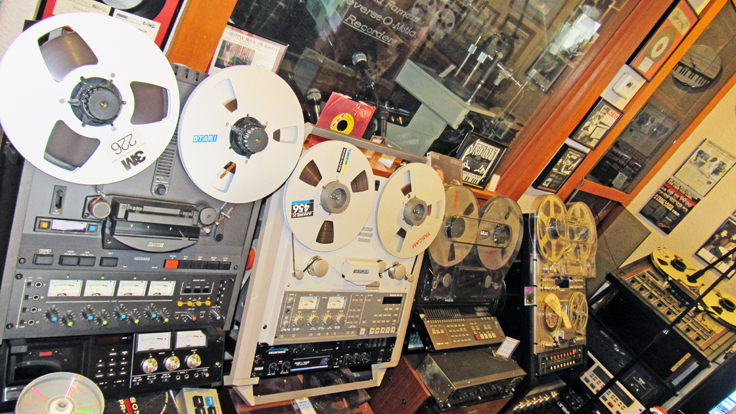 Otari, Tascam Fostex, Pioneer reel to reel tape recorders in the Reel2ReelTexas.com vintage recording collection