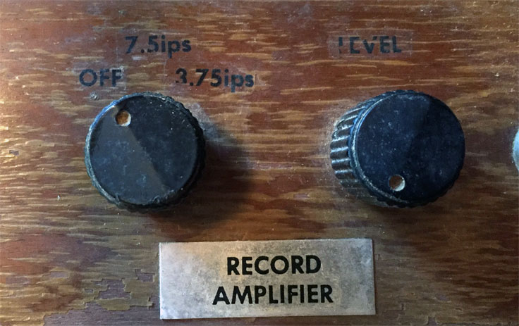 Unique Items in the Collection - Museum of Magnetic Sound Recording